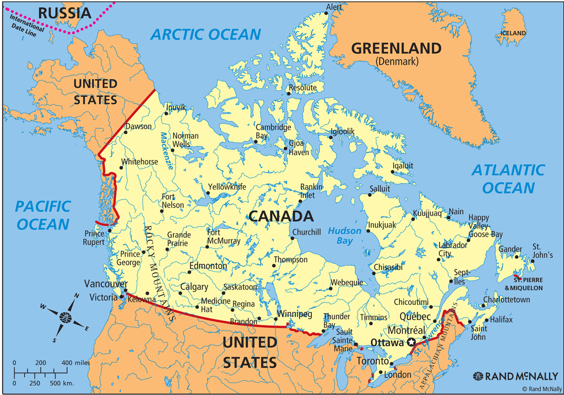 Map Of Canada 6th Grade.Canada Geography Nms 6th Grade Social Studies